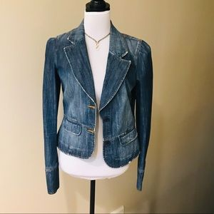 Juicy couture jean/denim blazer